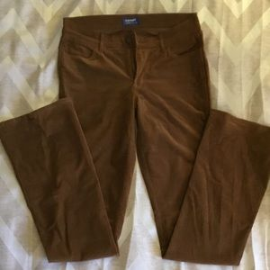 Brown Corduroy Pants - Old Navy 8 Tall Extra long!